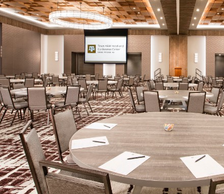 Texas A&M Hotel and Conference Center Meeting Room